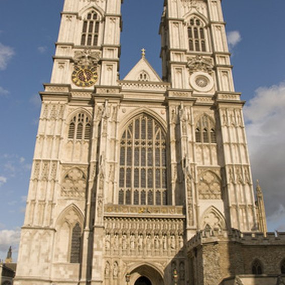 Westminster Abbey is one of London's busiest tourist attractions.