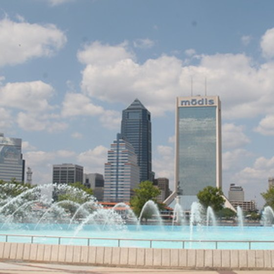 Riverfront hotels in Jacksonville are close to downtown and local beaches.
