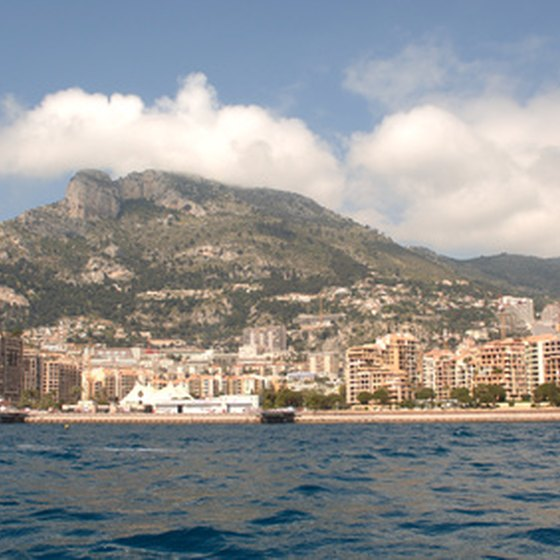 Royal Caribbean's Mediterranean cruises makes stops in ports, such as Monte Carlo.