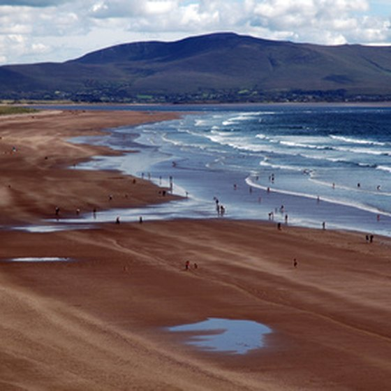 Ireland has many miles of picturesque coastline.
