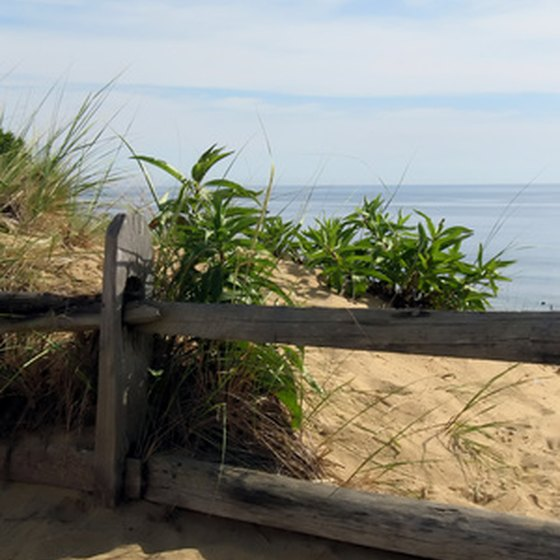 Cape Cod, Massachusetts holds many anniversary vacation ideas.