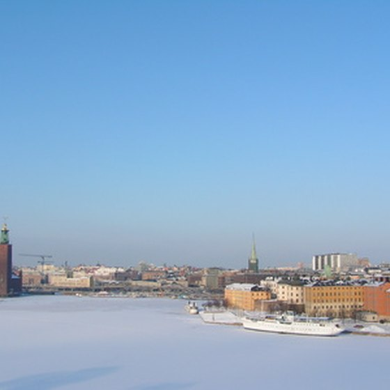 Stockholm in winter