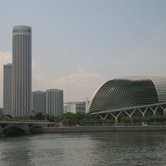 Singapore's durian-domed Esplanade is a major venue for world-class entertainment.