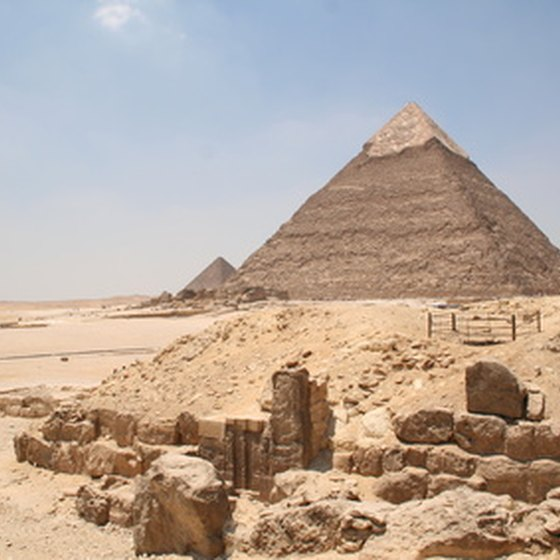 Anthropologists and archaeologists can venture to Egypt to study the Pyramids.