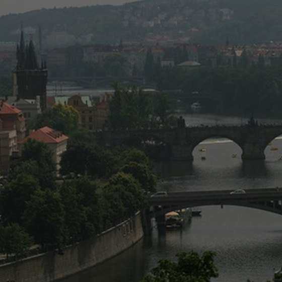Prague is the starting point for one of many European walking vacations.