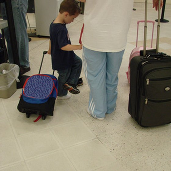 Airlines now restrict carry-on luggage.