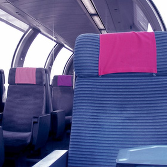 European trains are clean, comfortable and efficient.
