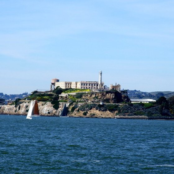 Alcatraz Island is in San Francisco Bay.
