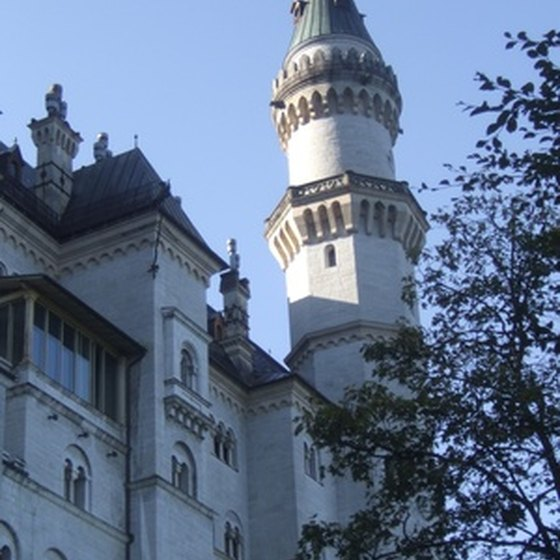 Neuschwanstein is one of the most famous castles in Germany.
