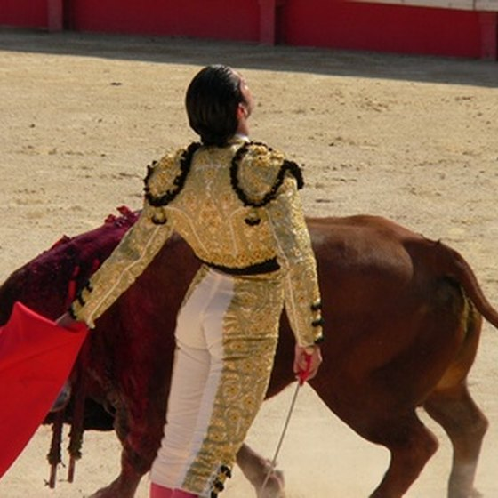 Spain is known for its bullfighting tradition
