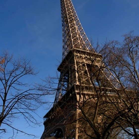 The Eiffel Tower is a Paris landmark.