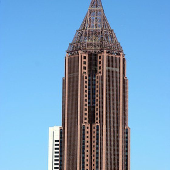 Atlanta's tallest skyscraper is the Bank of America Plaza.
