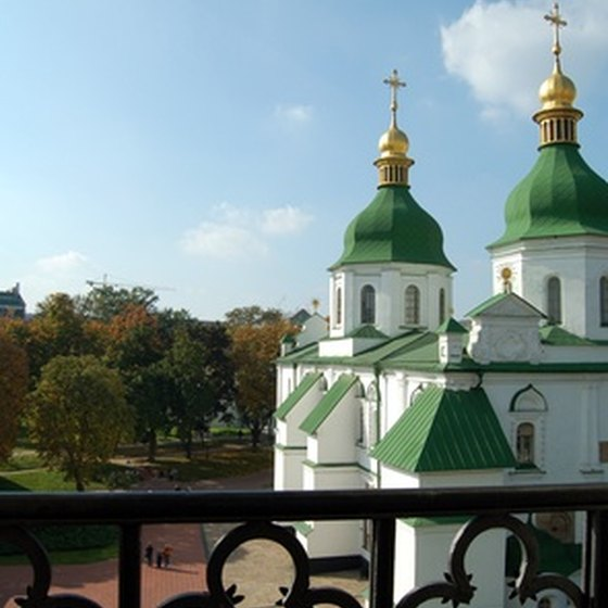 Kiev is home to several of the most important religious architecture of the former Soviet Union