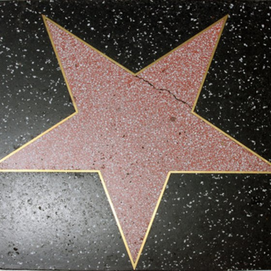 The stars on the Hollywood Walk of Fame cost nothing to see.