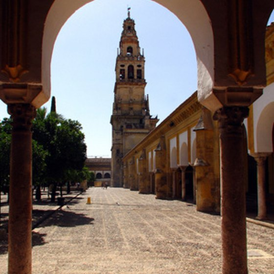 Plaza in Cordoba, Andalusia