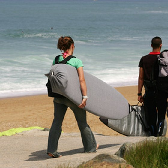 Surf camps are excellent options for singles interested in learning how to surf.