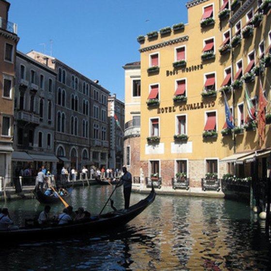 A view of a Venice canal