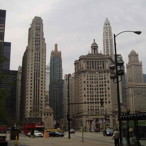 Downtown Chicago vacations offer an opportunity to explore architectural design.
