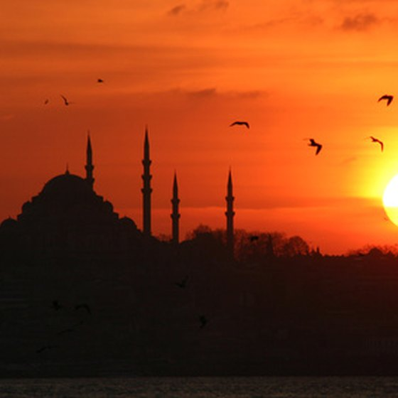 Istanbul is home to many spectacular mosques.