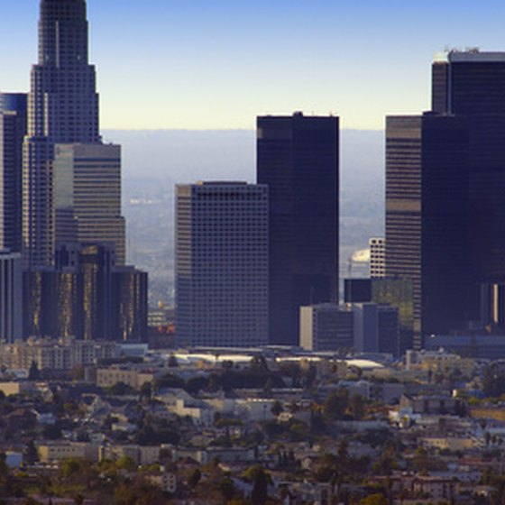 Los Angeles, CA City Skyline