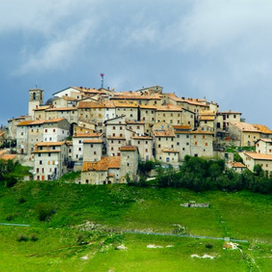 Umbria is famous for its hill towns.