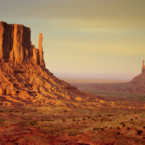 Check out the vast Monument Valley,