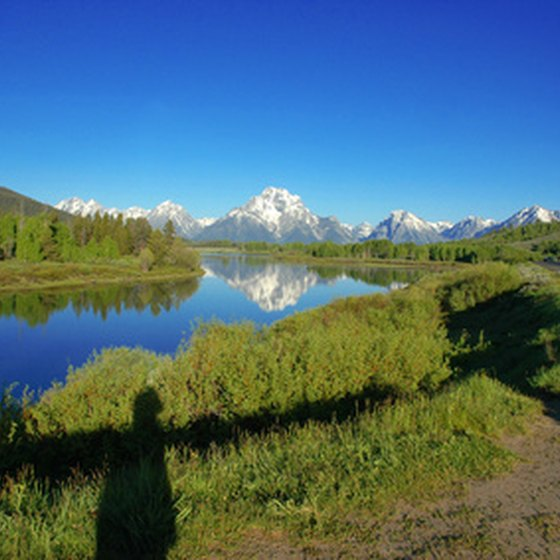 Grand Teton National Park hosts breathtaking scenery.