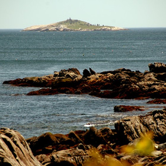 Thousands of sightseers kayak Maine's rugged coast each year.