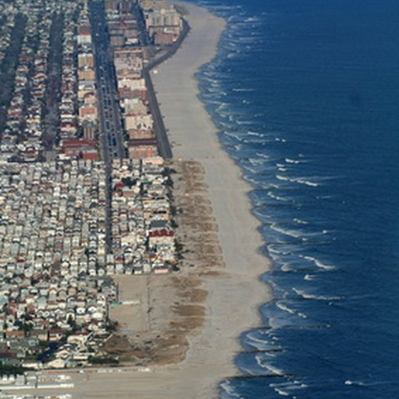 Long Island Beach is a popular resort in the Northeast.
