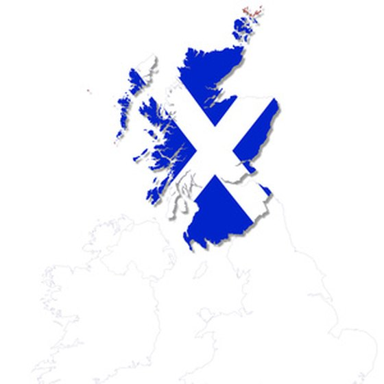 Scotland comprises three distinct islands and 700 lesser isles.