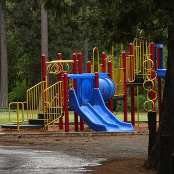 Several state parks in Georgia offer playgounds and other outdoor recreation.