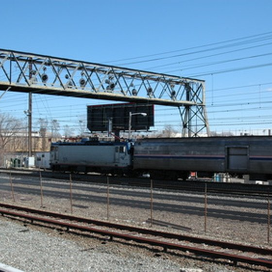 Amtrak provides train service across the United States.