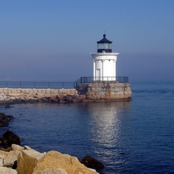 The Bug Light guards the entrance to Portland Harbor.