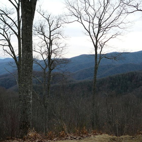 Gatlinburg and Pigeon Forge offer panormaic views of the Great Smoky Mountains.