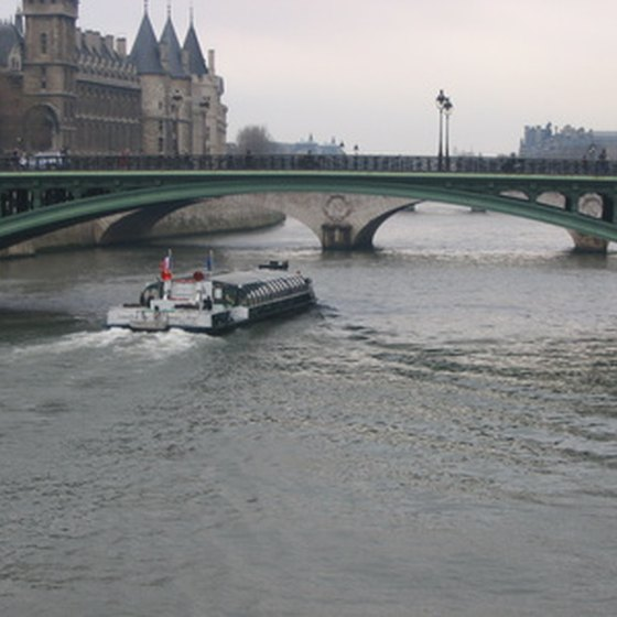 Cruising the Seine is a relaxing way to visit Paris.