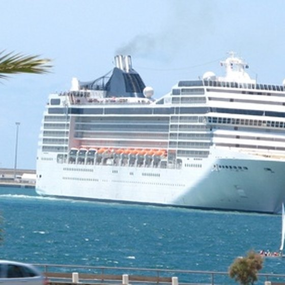 Many cruises sail from Florida.