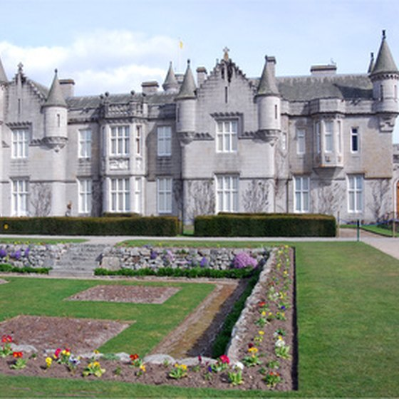 Balmoral Castle is one of the most famous castles in the world.
