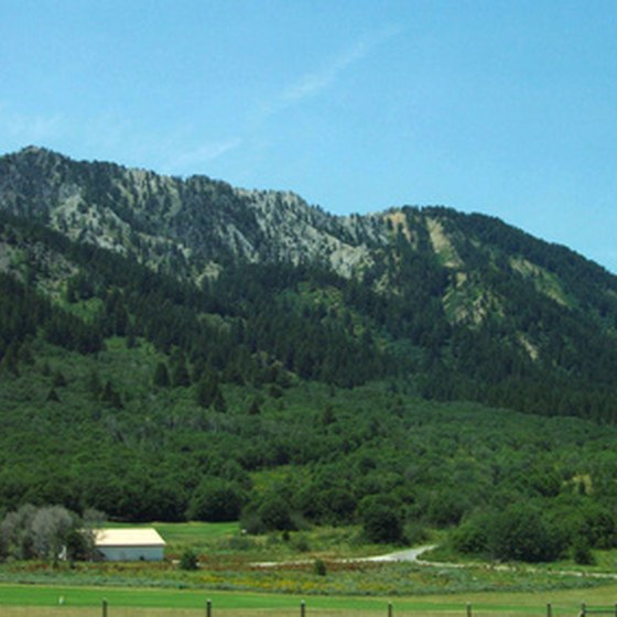 Scenery in Idaho