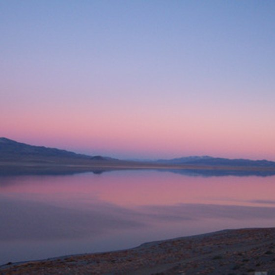 Walker Lake provides visitors to Hawthorne with water-based activities.