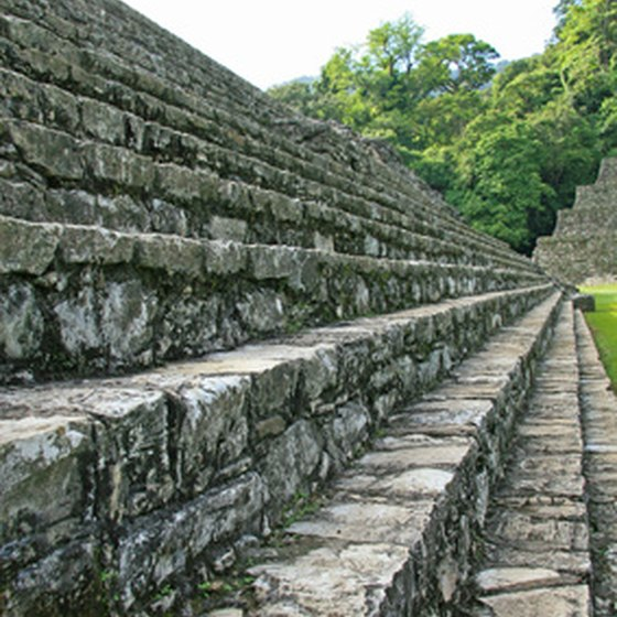 Scale ruins at Palenque
