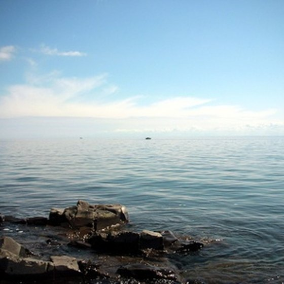 Lake Superior is a popular attraction near Houghton.