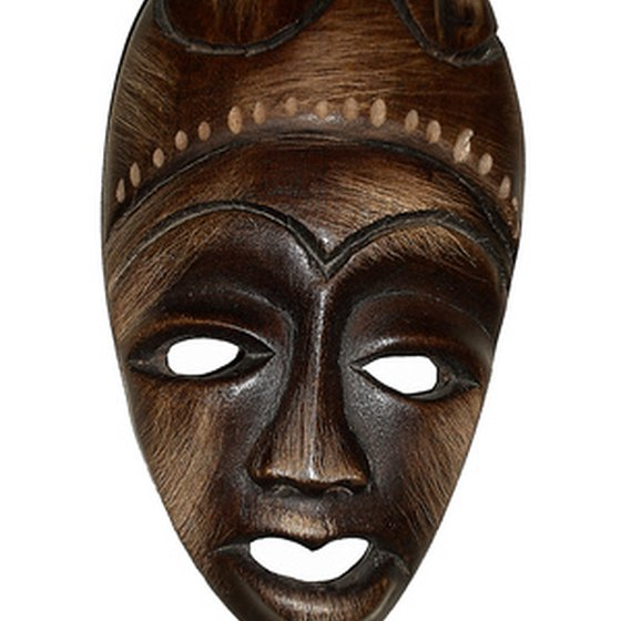 Jacmel artisans make handcrafted masks and papier-mache.