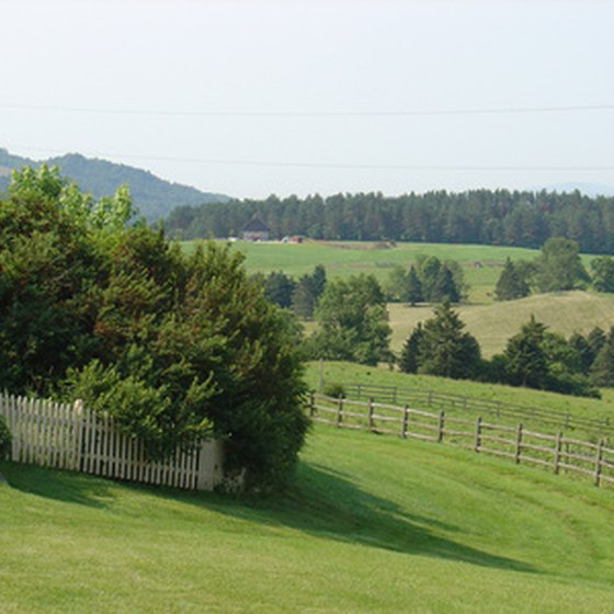 Horseback riding vacations in Vermont explore its meadows and valleys.