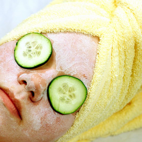 Treat yourself to a facial at the Mirbeau Inn and Spa.