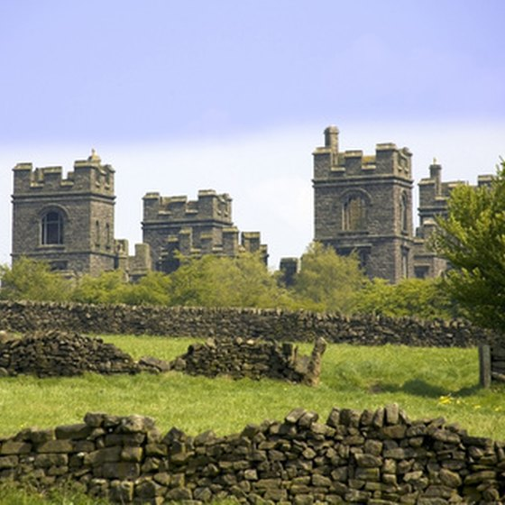 Various tours explore English castles.