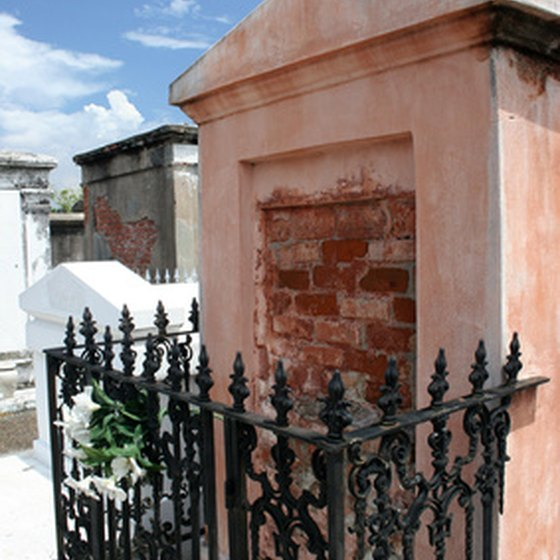 You can take a tour through New Orleans' famous Cities of the Dead.
