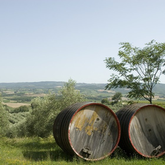 Bike tours go to Tuscany and other regions of Italy.