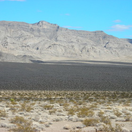 Nevada offers a wide variety of landscapes for RV camping
