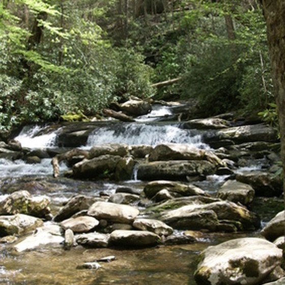 Litttle River Tennessee in the Great Smoky Mountains