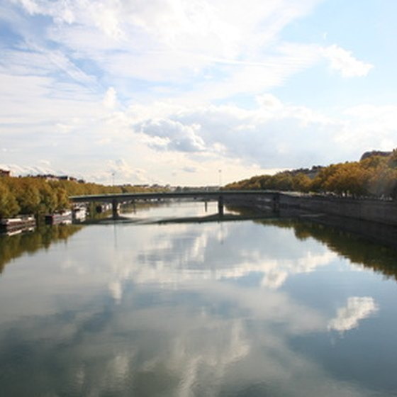 River cruises are a fun and unusual way to explore France.